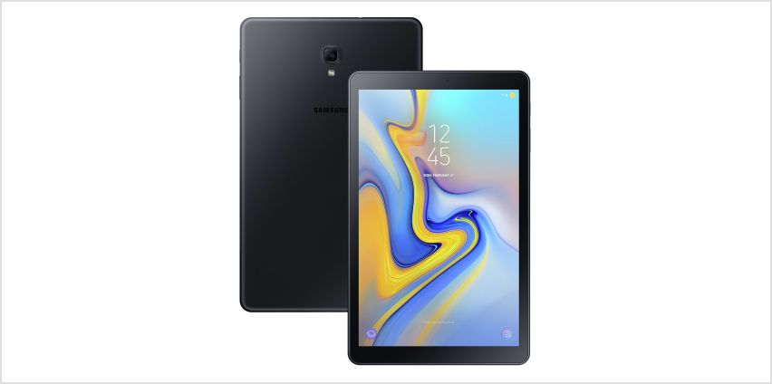 Samsung Galaxy Tab A 10.5 Inch 32GB LTE Tablet - Black from Argos