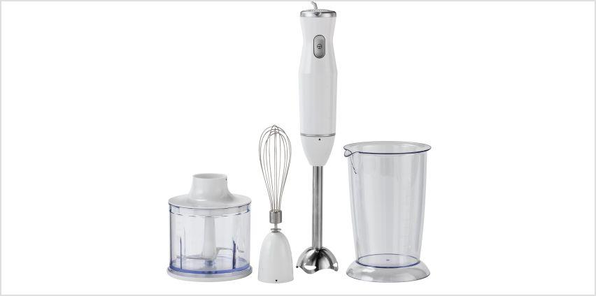 Cookworks Hand Blender - Stainless Steel from Argos