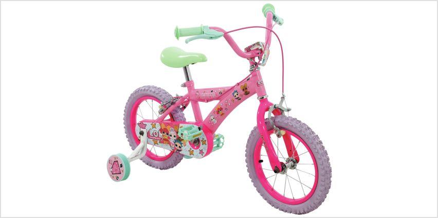 LOL Surprise 14 inch Wheel Size Kids Bike from Argos