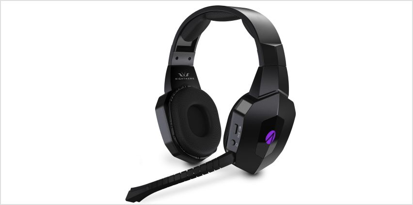 Stealth Nighthawk Wireless PS4, PC Headset- Black from Argos