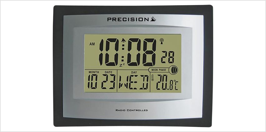 Precision LCD Radio Controlled Clock from Argos