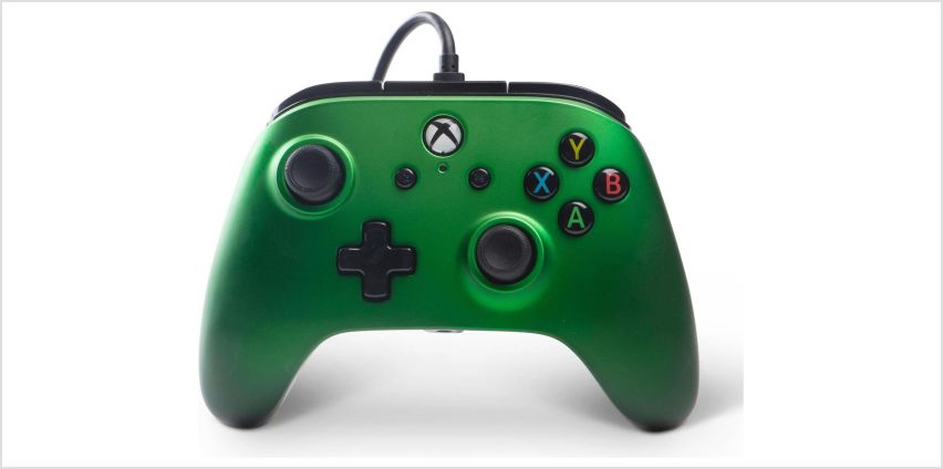Enhanced Wired Controller for Xbox One - Emerald Fade from Argos
