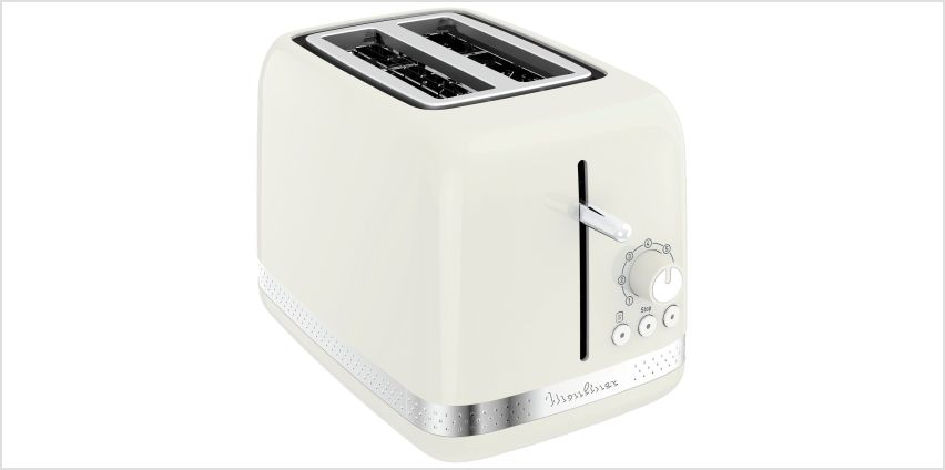 Moulinex LT300A41 2 Slice Toaster - Ivory from Argos