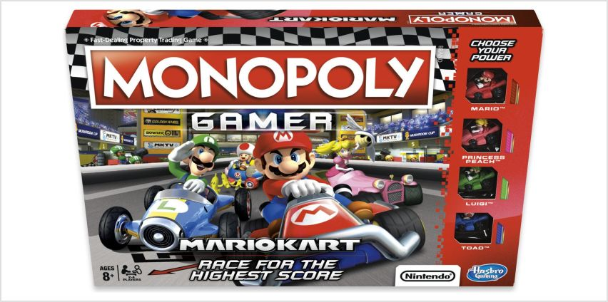 Monopoly Gamer Mario Kart from Hasbro Gaming from Argos