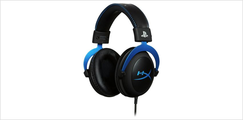HyperX Cloud PS4 Headset - Blue from Argos