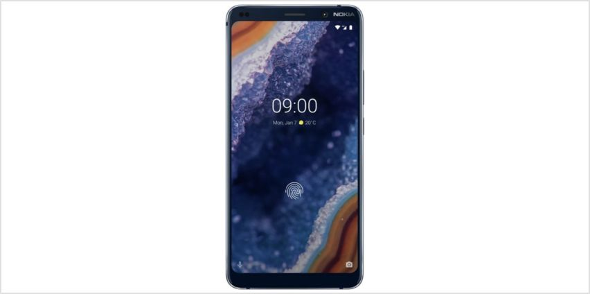 SIM Free Nokia 9 PureView 128GB Mobile Phone -Midnight Blue  from Argos