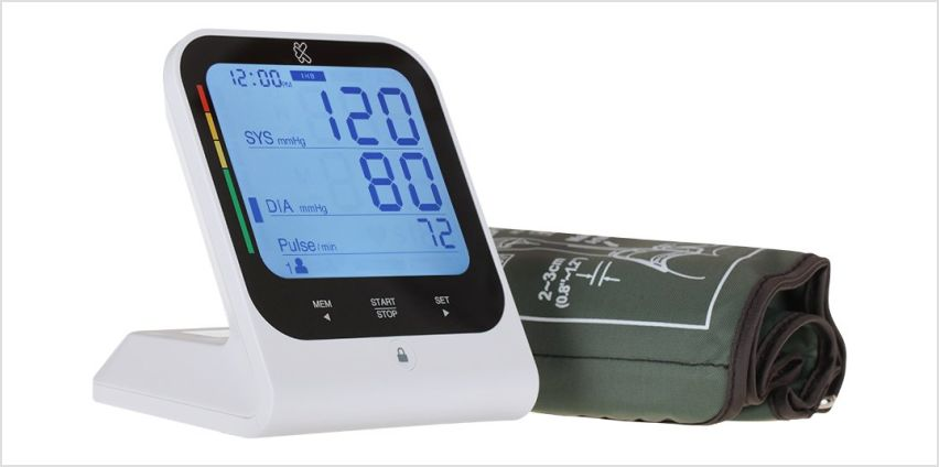 Kinetik Wellbeing Bluetooth Advance Blood Pressure Monitor from Argos