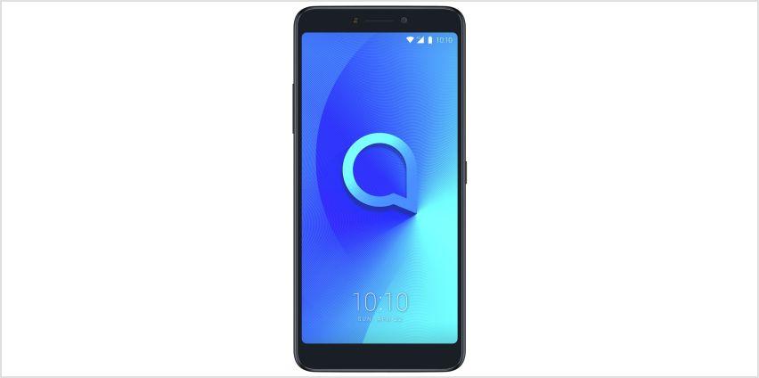 SIM Free Alcatel 3V 16GB Mobile Phone - Black from Argos