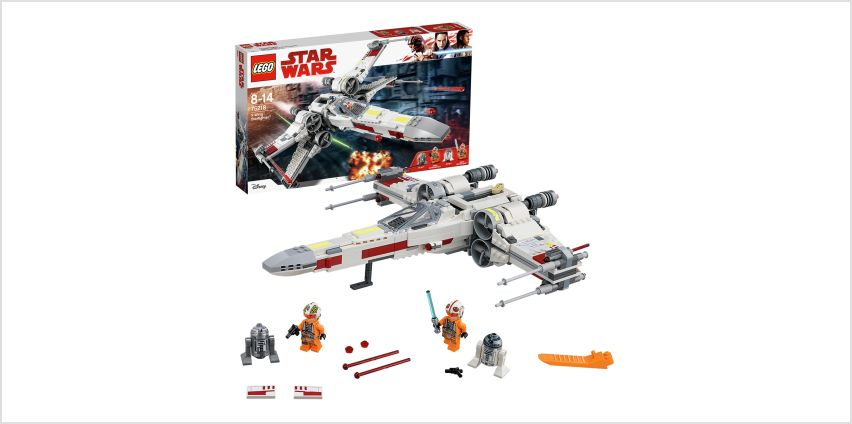 LEGO Star Wars X-Wing Starfighter Toy Building Set - 75218 from Argos