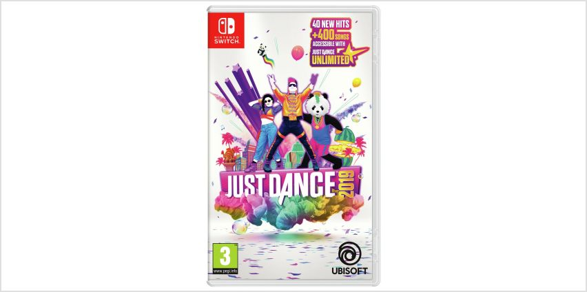 Just Dance 2019 Nintendo Switch Game from Argos
