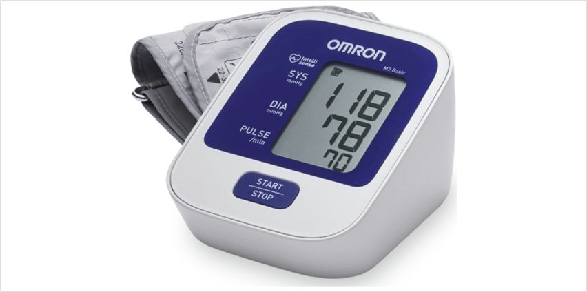 Omron M2 Basic Upper Arm Blood Pressure Monitor from Argos