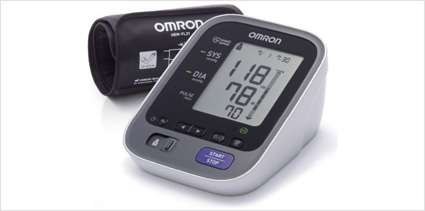 Omron M7 Intelii IT Upper Arm Blood Pressure Monitor from Argos