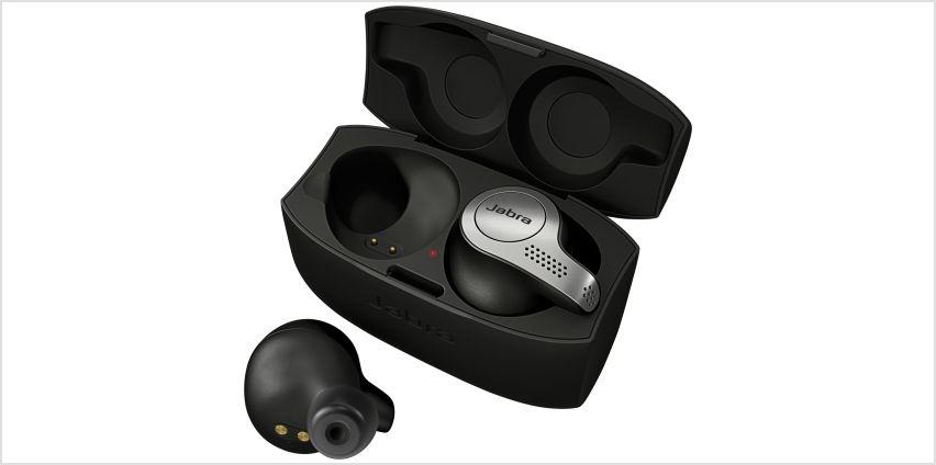 Jabra Elite 65t In-Ear True Wireless Headphones - Black from Argos