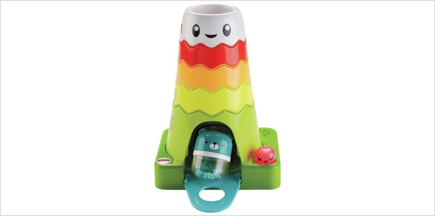 Fisher-Price Stack & Slide Magic Mountain from Argos
