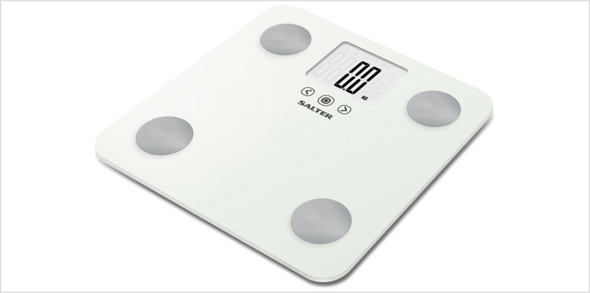 Salter Max Body Analyser Scale - White from Argos