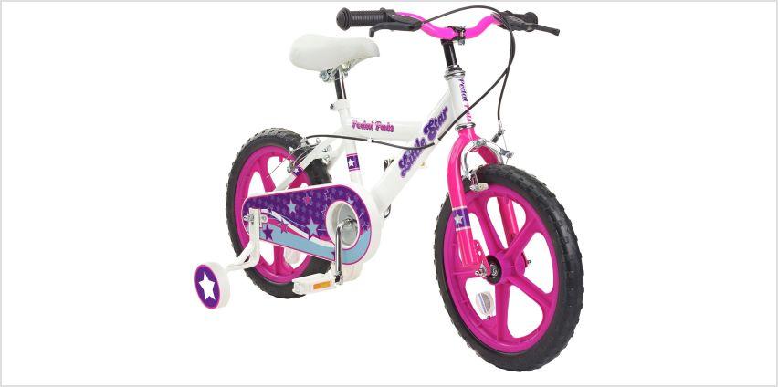 Pedal Pals 16 Inch Little Star Kids Bike from Argos