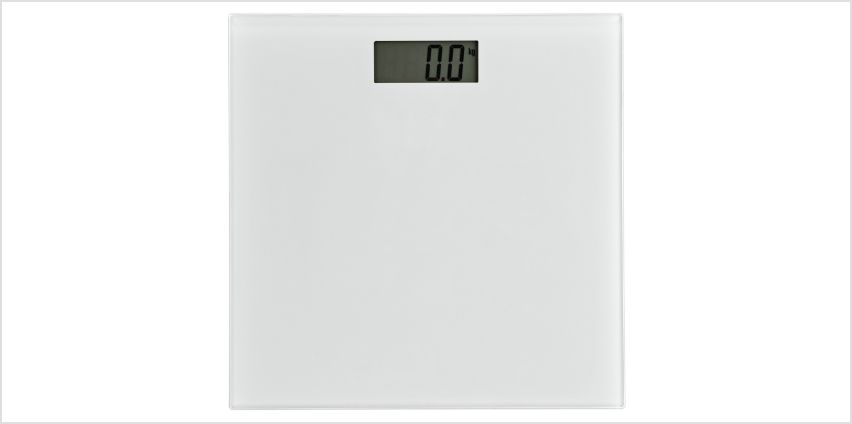 Argos Home Electronic Bathroom Scales - White from Argos