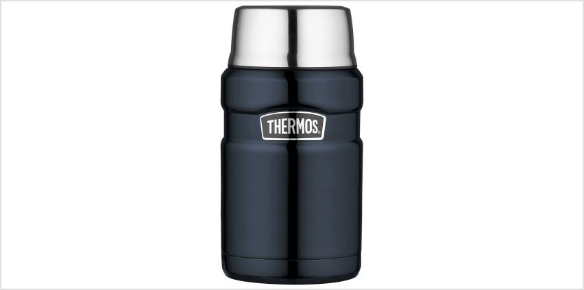 Thermos Stainless King Midnight Blue Food Flask - 700ml from Argos