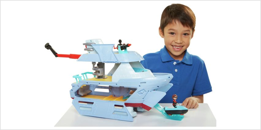 Incredibles 2 Hydroliner Playset from Argos
