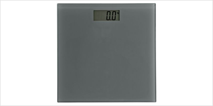 Argos Home Electronic Bathroom Scales - Grey from Argos