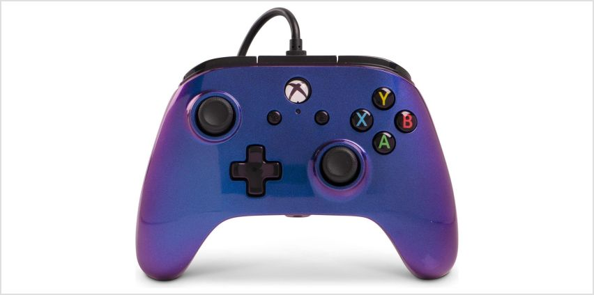 Enhanced Wired Controller for Xbox One - Cosmos Nebula from Argos