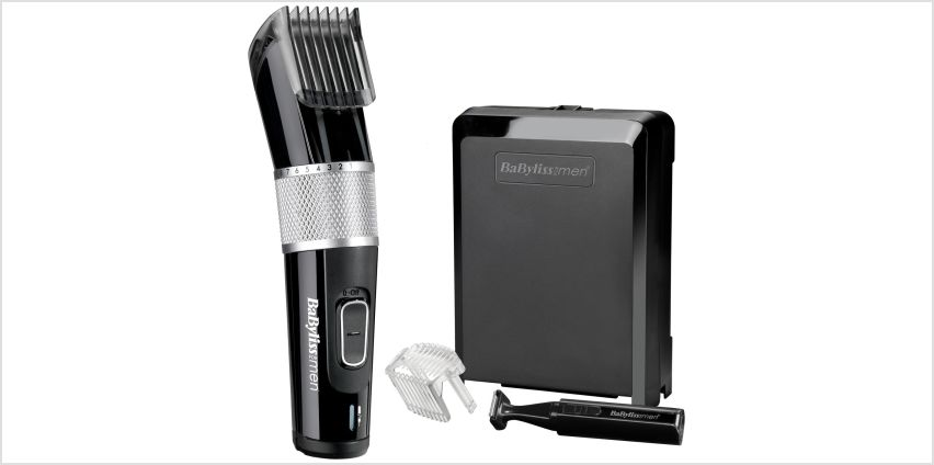 BaByliss for Men Carbon Steel Hair Clipper 7468U from Argos