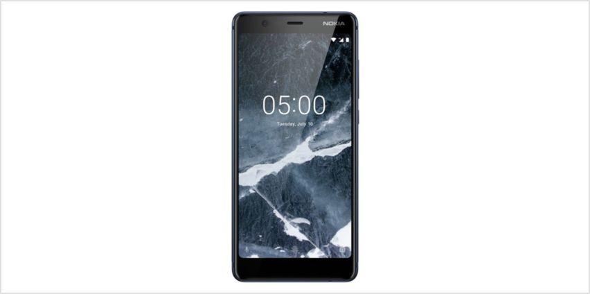 SIM Free Nokia 5.1 16GB Mobile Phone - Blue from Argos