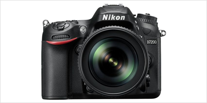 Nikon D7200 DSLR Camera with 18-105mm VR Lens from Argos