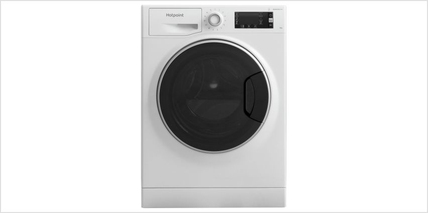 Hotpoint NM111045WCAUK 10KG 1400 Spin Washing Machine -White from Argos