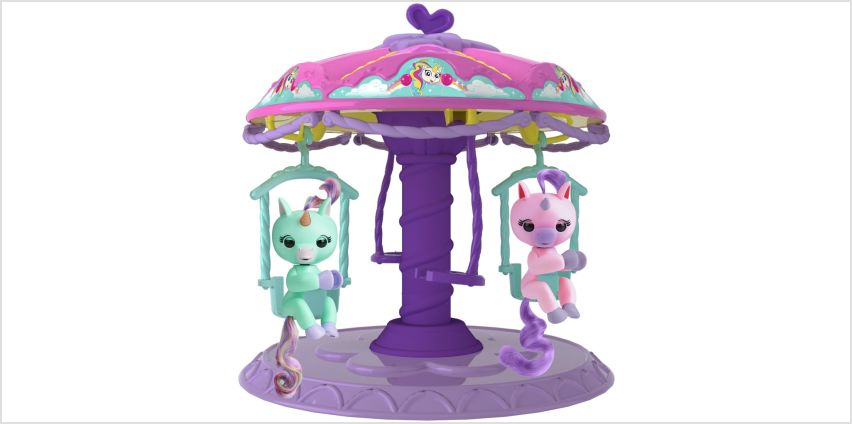 Fingerlings Playset with 2 Fingerlings Unicorns  from Argos