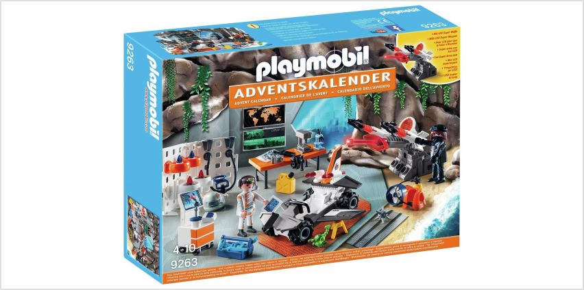Playmobil 9263 Top Agents Advent Calendar from Argos