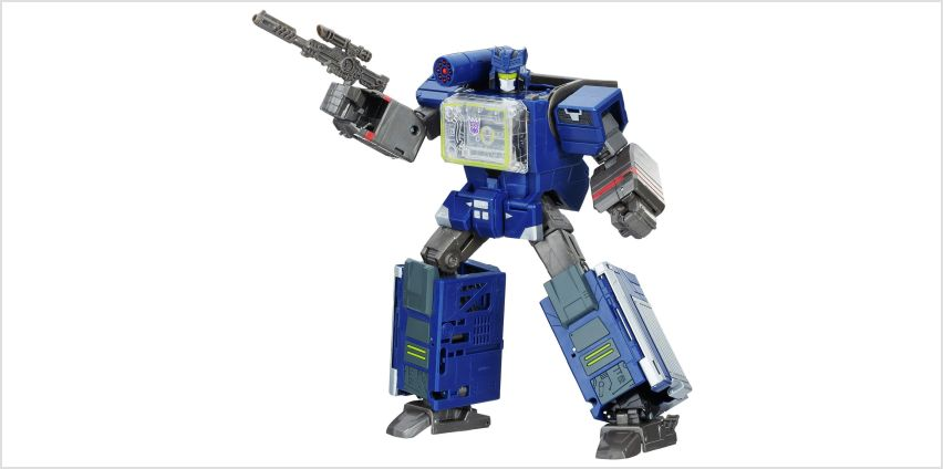 Transformers Bumblebee Greatest Hits Soundwave & Doombox from Argos