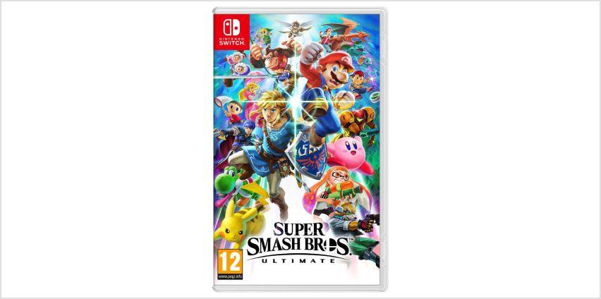 Super Smash Bros Ultimate Nintendo Switch Game from Argos