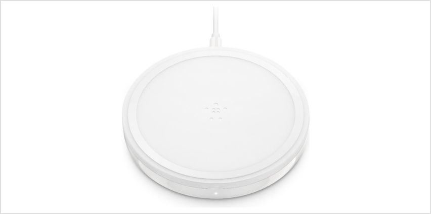 Belkin Qi Enabled 10W Wireless Charging Pad - White from Argos