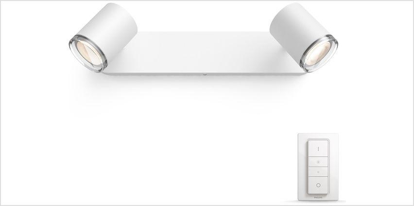 Philips Adore Hue Bar Tube Light from Argos