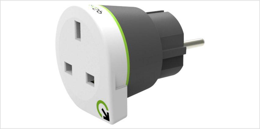 Q2Power UK to Europe Travel Adapter from Argos