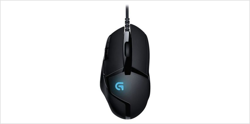 Logitech G402 Hyperion Fury Gaming Mouse from Argos