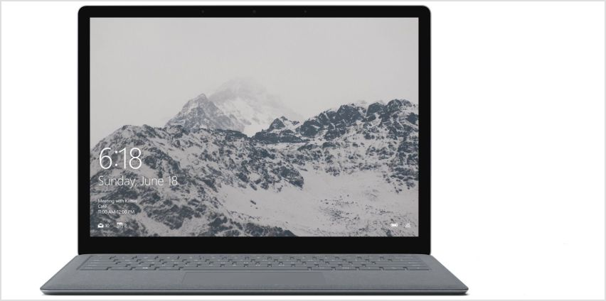 Microsoft Surface 13.5 Inch M 4GB 128GB 2-in-1 Laptop from Argos