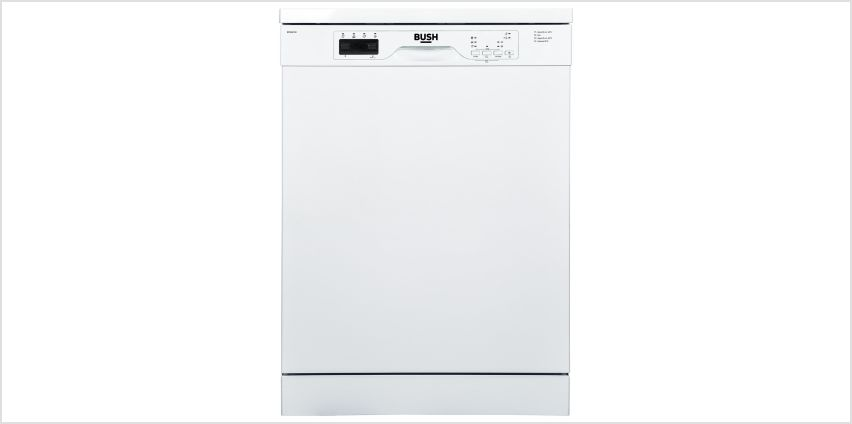 Bush BFSNB12W Full Size Dishwasher - White from Argos