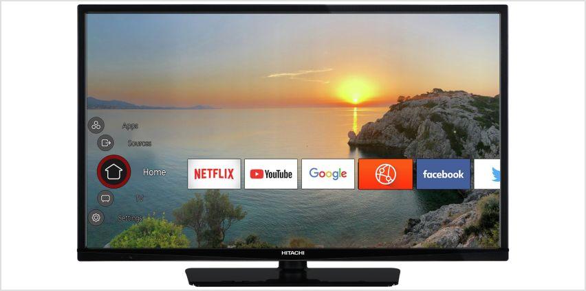 Hitachi 32 Inch Smart HD Ready TV / DVD Combi  from Argos