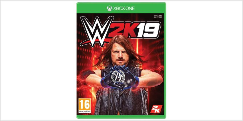WWE 2K19 Xbox One Game from Argos