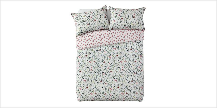 Argos Home Mistletoe Floral Bedding Set from Argos