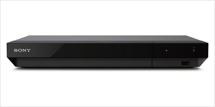 Sony UBP-X500 4K Ultra HD Blu Ray Player from Argos