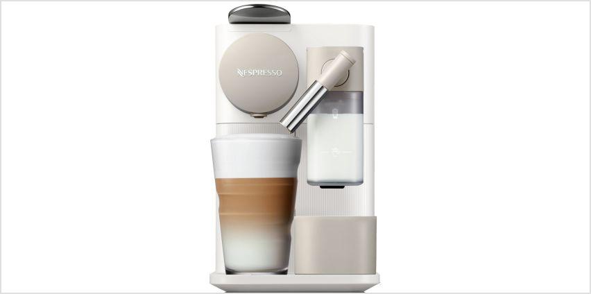 Nespresso by De'Longhi Latissima One Pod Coffee Machine -Wht from Argos