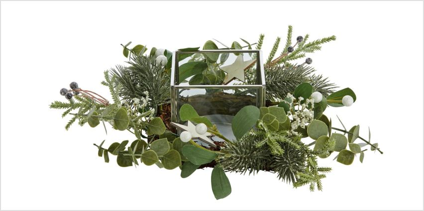 Sainsbury's Home Foliage Candle Holder from Argos
