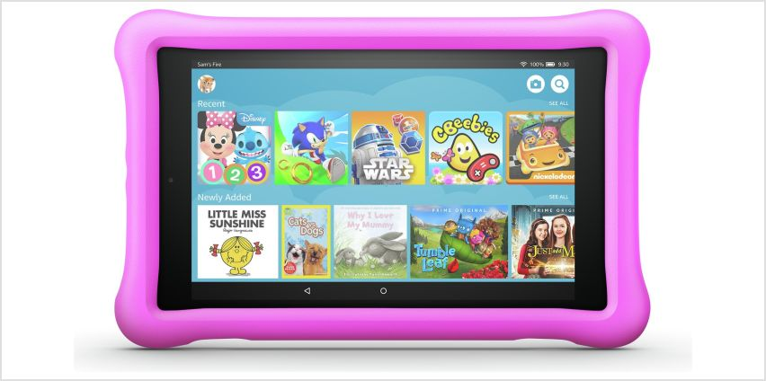 Amazon Fire 8 Kids Edition 8 Inch 32GB Tablet - Pink from Argos