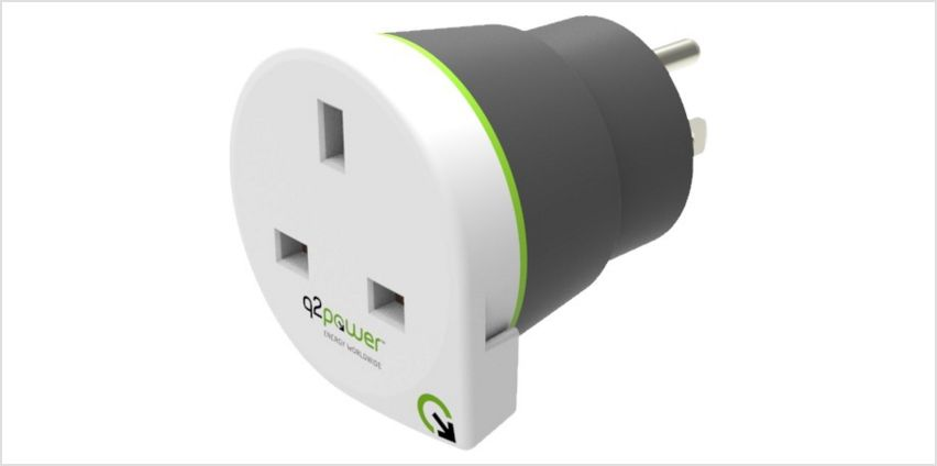 Q2Power UK to USA Travel Adapter from Argos