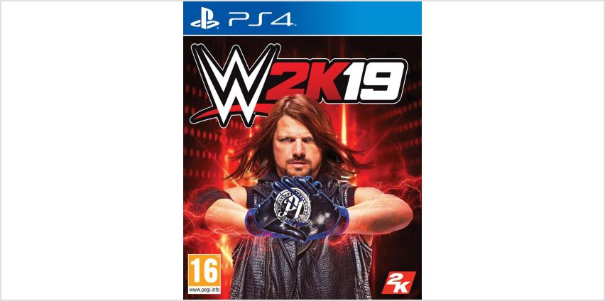 WWE 2K19 PS4 Game from Argos