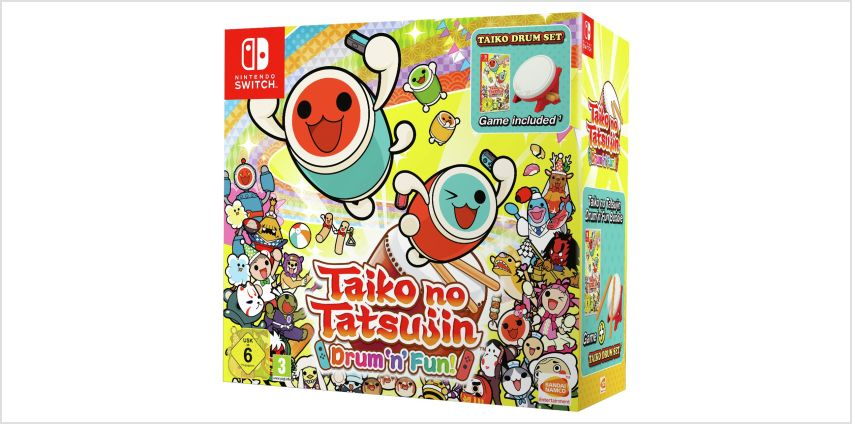 Taiko No Tatsujin Collectors Edition Nintendo Switch Game from Argos