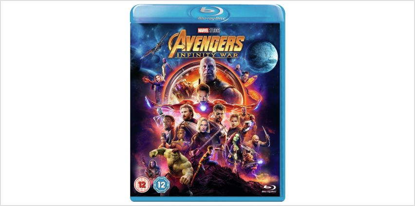 Avengers: Infinity War Blu-Ray from Argos
